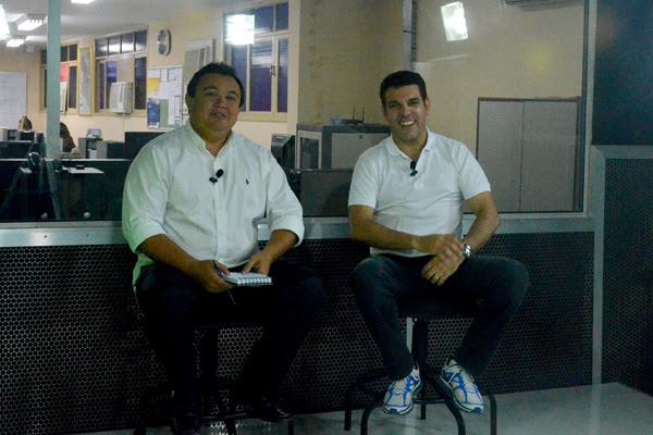 O presidente do América, Alex Padang, esteve no estúdio da TV Tribuna do Portal Tribuna do Norte e foi entrevistado pelo jornalista Itamar Ciríaco