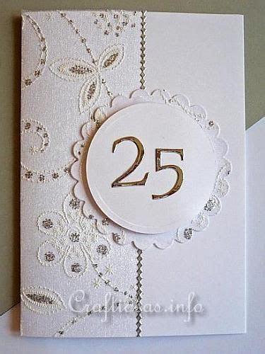 Silver Wedding Anniversary Card   Cards Wedding   Wedding