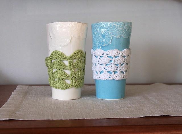 crochet mug cozies