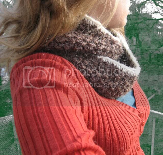 double looped scarf