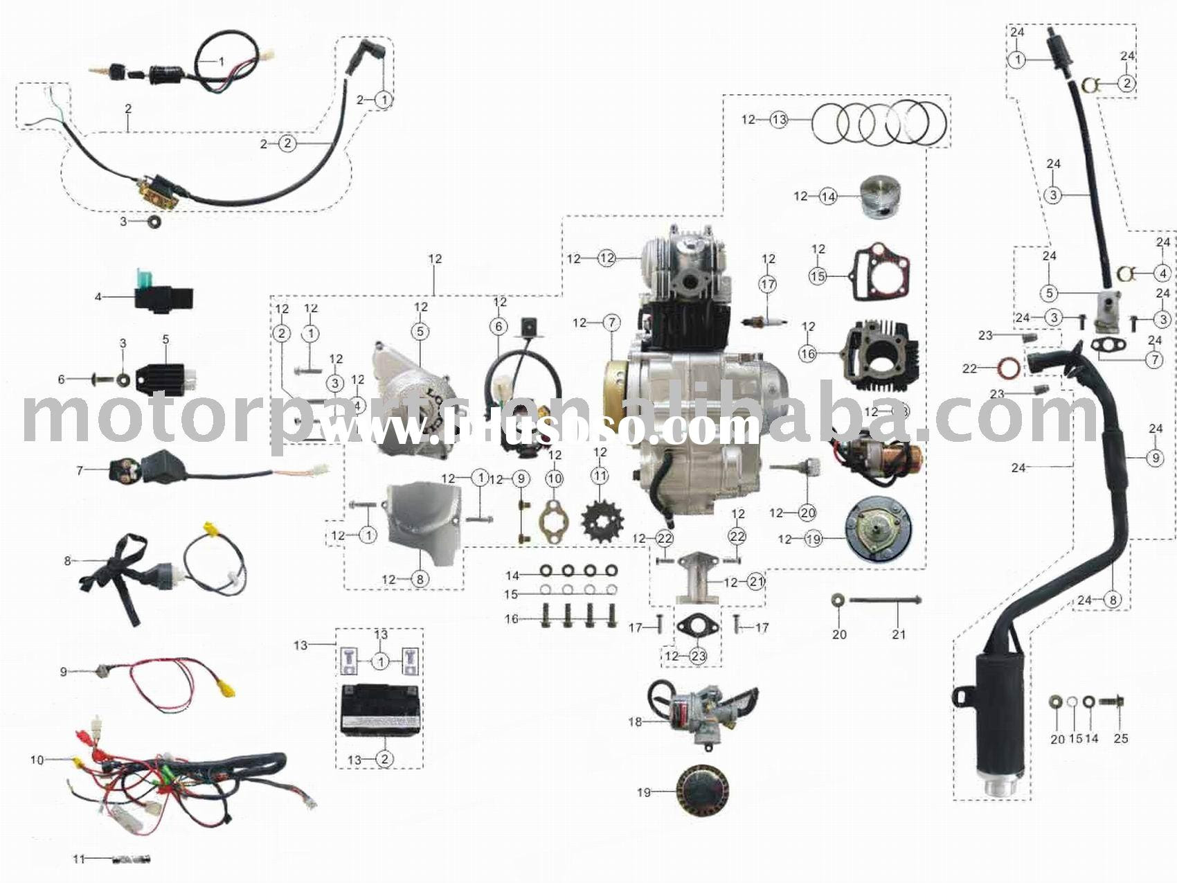 Qyie Atv Engine Wiring Schematic