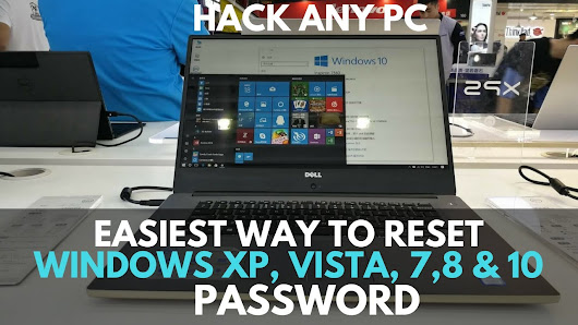 How to Reset or Change Forgot Windows 7, 8,10 Password - DIY Guide