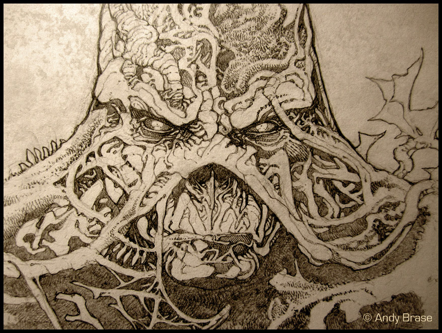 Swamp Thing : Concept art by andybrase on DeviantArt
