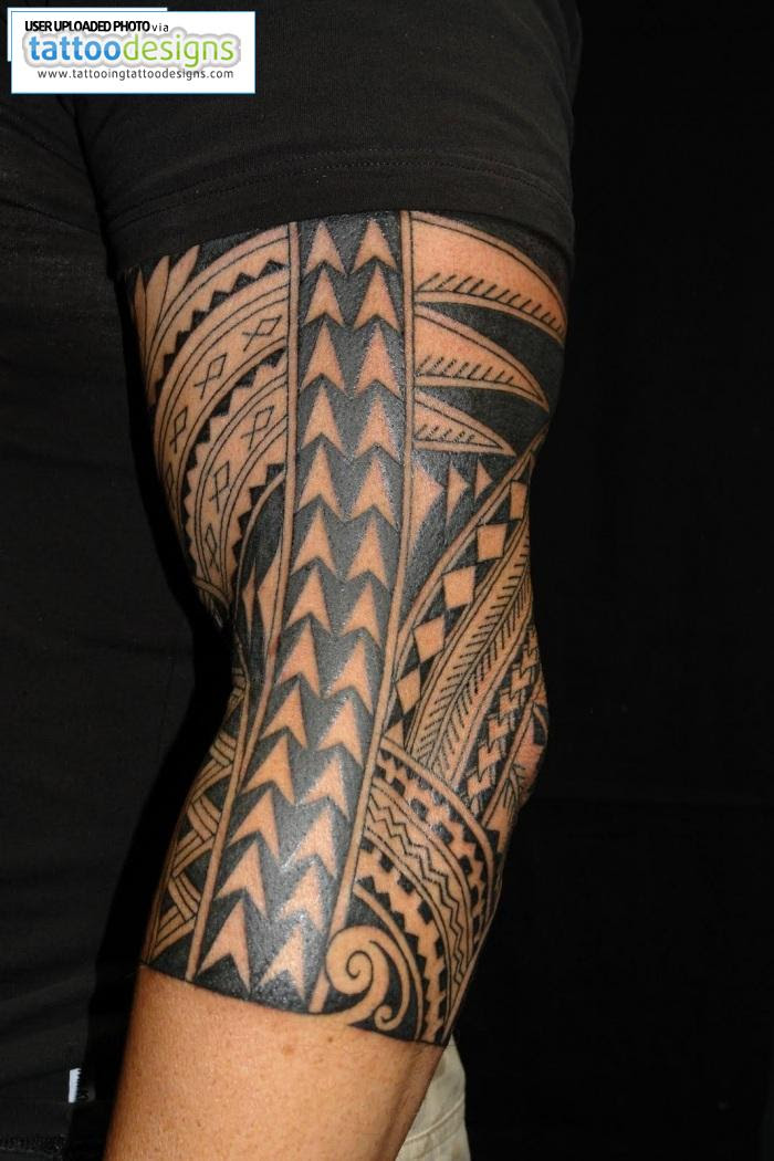 Maori Polynesian Half Sleeve Tattoo Tattoomagz