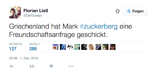 Ein Tweet zu Mark Zuckerbergs 45 Milliarden-Spende. | Dressed Like Machines