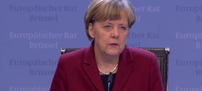 Mέρκελ: Πρέπει να δράσουμε γρήγορα – Περιμένουμε πλήρη κατάλογο μεταρρυθμίσεων από την Ελλάδα