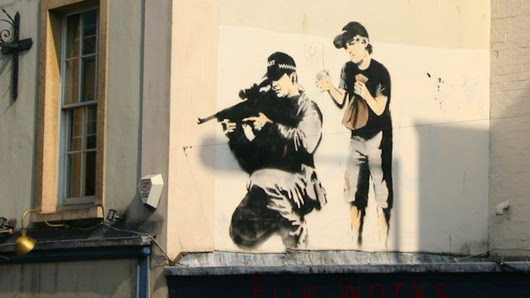 Banksy lawyers delayed geographical profiling study - BBC News