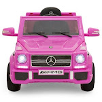 Best Choice Products 12V Kids Licensed Mercedes-Benz G65 SUV Ride-On Car, Pink