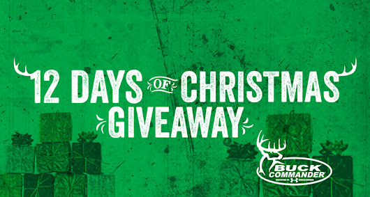 12 Days of Christmas Giveaway | Buck Commander