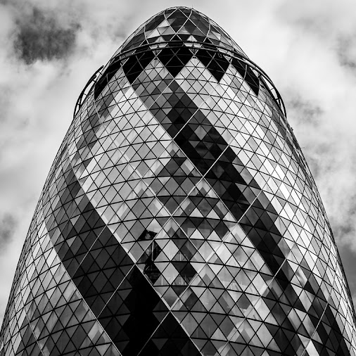 The Gherkin. To view the image in full size & to see my other travel images please click on the thumbnail...