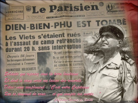 7 mai 1954 DIÊN-BIÊN-PHÙ est tombé!