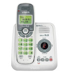 Vtech CS6114 Cordless Phone - DECT - White - 1 x Phone Line - Caller ID - Backlight (cs6124)