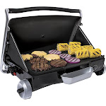 George Foreman - Portable Gas Grill - Black