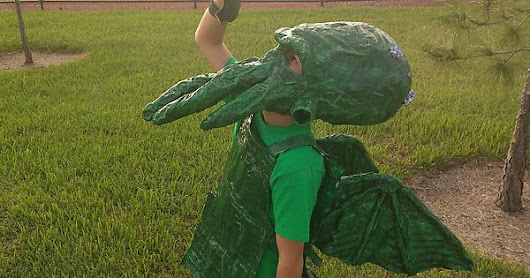 DIY - Cthulhu Costume for Halloween