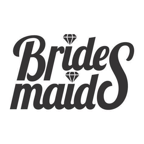Team Bridesmaid Wedding Cuttable Designs