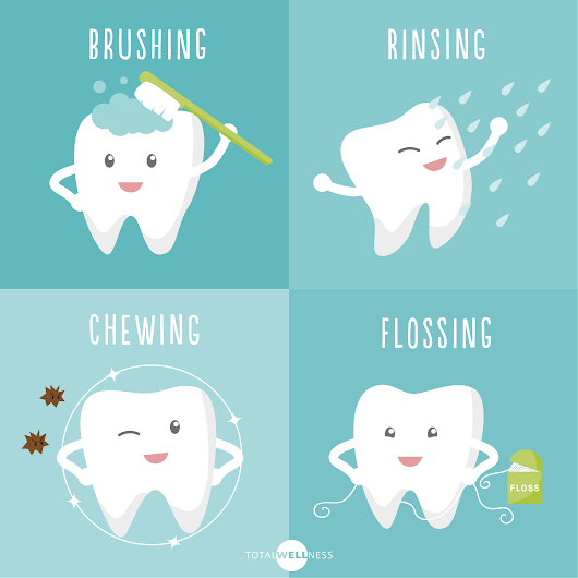 4 Easy Oral Health Tips for National Dental Hygiene Month