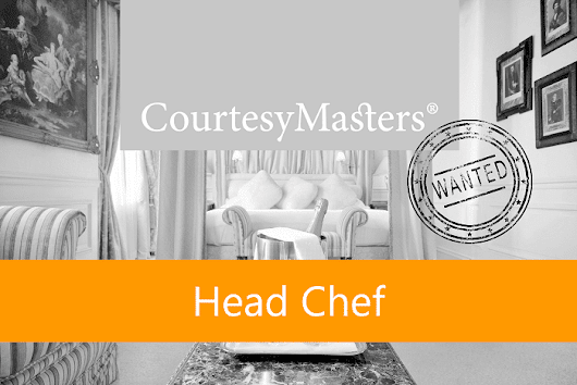 Job Head Chef • CourtesyMasters