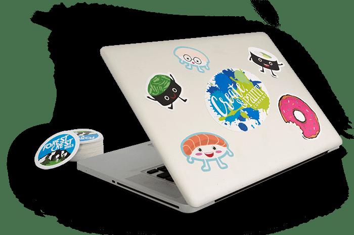 Custom Stickers Made Easy - No Minimum Quantity | MakeStickers