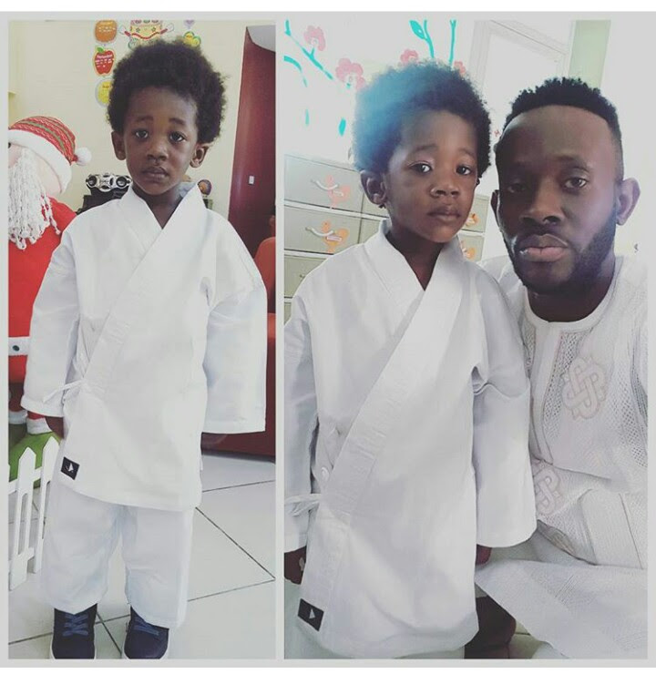 J Martins Shares Photo With His Son