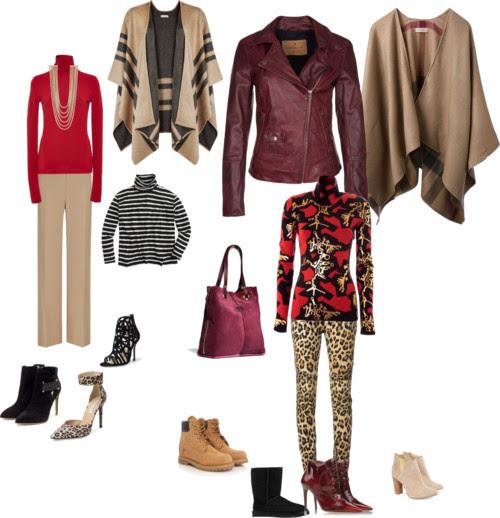 Splenderosa's Fall Outfits w/Burgundy Bag by splenderosa featuring a cape coat