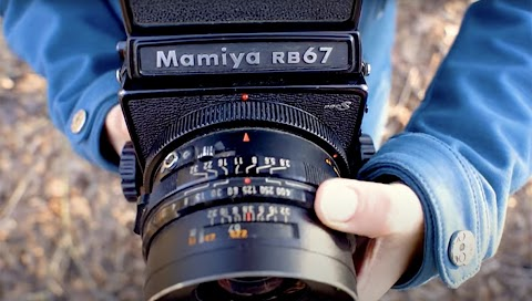 Building a Polaroid Back for the Mamiya RB67