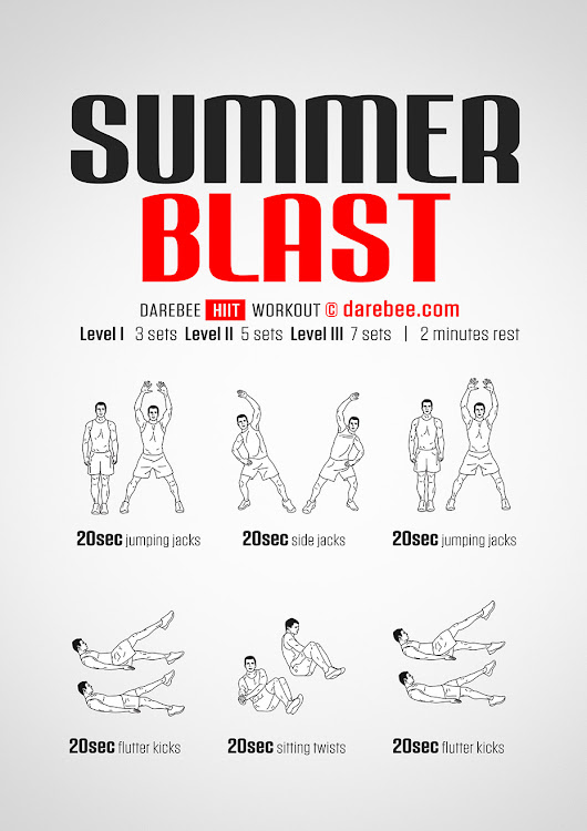 Summer Blast Workout
