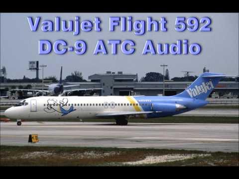 Image result for ValuJet DC-9 caught fire simulation