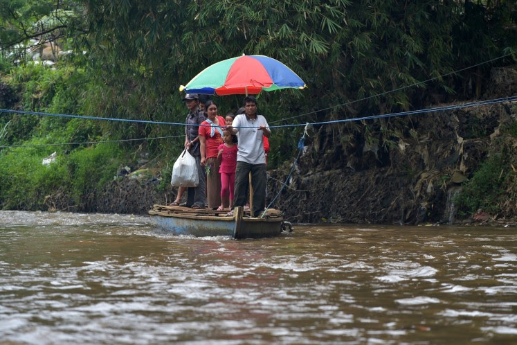 Another ChinaJapan battle expected over worlds dirtiest river in Indonesia  National  The