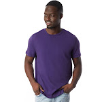 Alternative - Men's Outsider T-Shirt-DEEP VIOLET-M