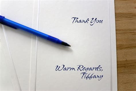 Proper Etiquette for Signing Thank You & Sympathy Cards