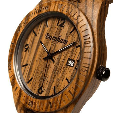 Argonaut // Swiss Movement Wooden Watch   Burnham Watches