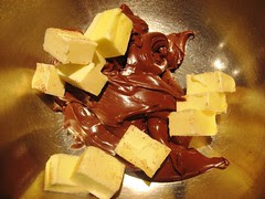 Nutella and butter