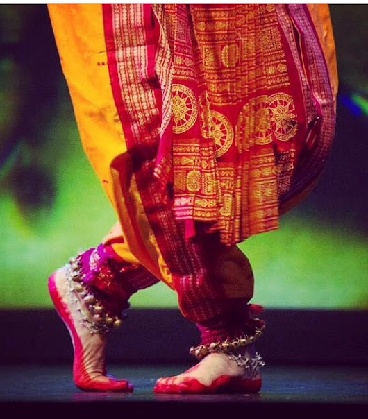 The Glorious Odissi Sari