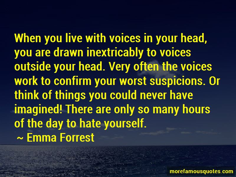 Quotes About Voices In Your Head Top 39 Voices In Your Head Quotes