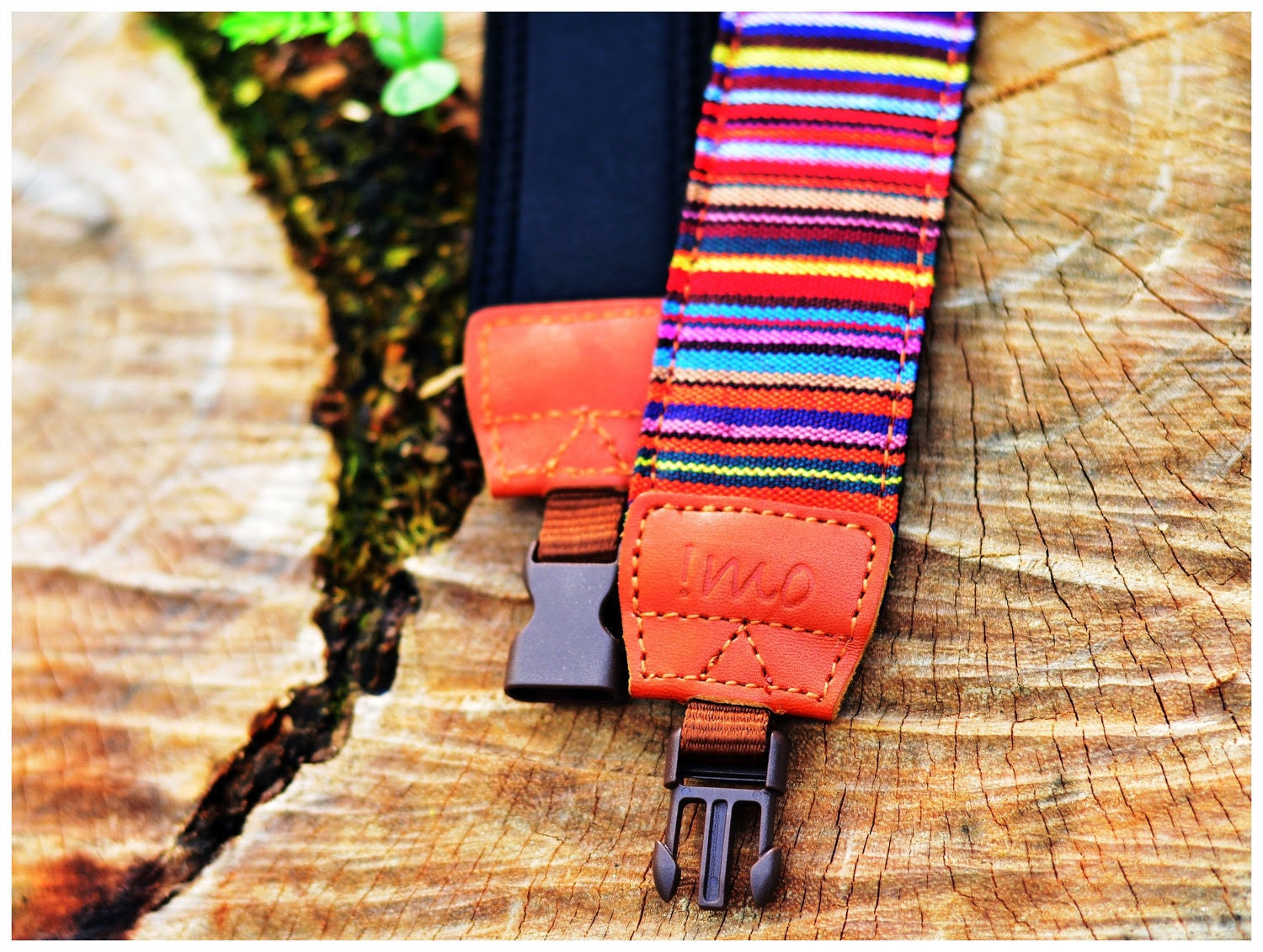 Red Village Camera Strap suits for DSLR / SLR with Quick Release Buckles