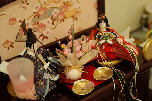 Dolls for girl's festival