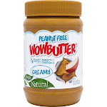 Wowbutter Soy Butter, Toasted, Creamy, Peanut Free - 17.6 oz