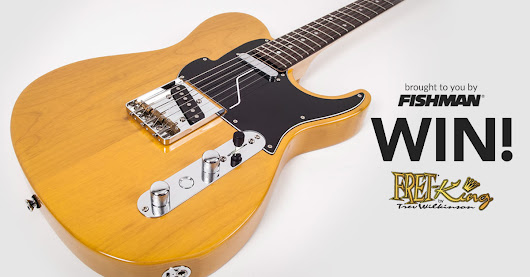 Enter to Win a Fret-King Fluence Country Squire Classic Guitar from Fishman!