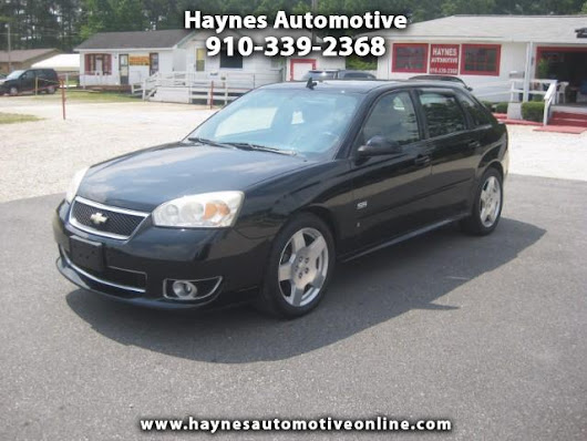 Used 2006 Chevrolet Malibu Maxx SS for Sale in Fayetteville NC 28303 Haynes Automotive