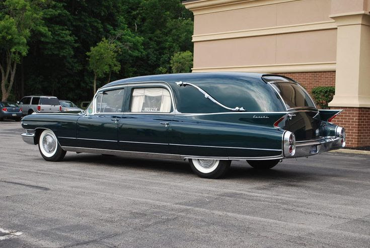 1960 Eureka Cadillac End-Loader hearse | rides | Pinterest