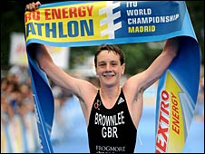 Alistair Brownlee wins in Madrid on Sunday