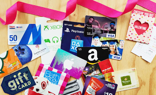Top Valentine Gift Cards for Teens in 2017 | Gift Card Girlfriend