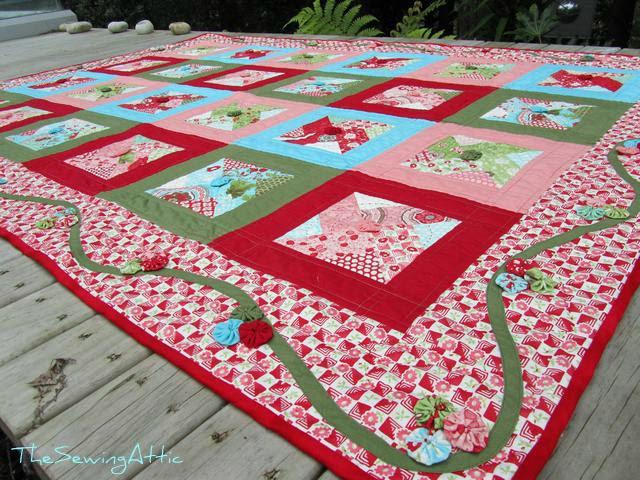 Bliss pinwheel quilt