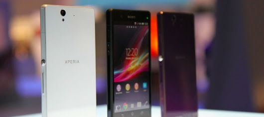 How Sony Created Its First Xperia Z Smartphone