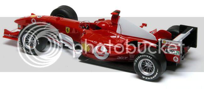 Slot Car News: New Scalextric Ferrari Formula 1 Cars