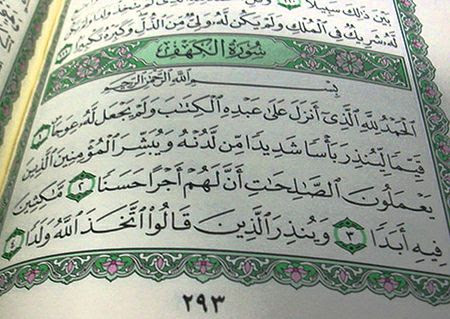 Image result for quran surat Al Kahfi