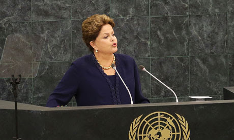 Dilma Rousseff UN general assembly