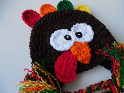 Turkey Hat Baby to Adult Sizing Handmade Crochet
