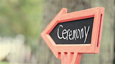 Order of Wedding Ceremony Events   Wedding Day Officiant