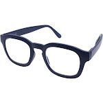Gabriel + Simone Screen Light Blockers - Sy Navy Unisex Reading Glasses NEW AUTHENTIC 49mm 0.00